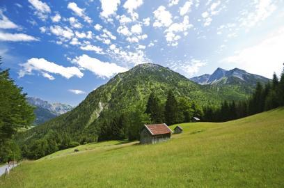 Bei Hinterstein im Oberallgäu, Bayern