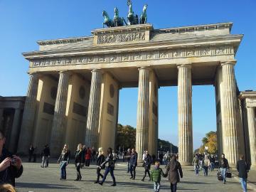 Brandenburger Tor vom Pariser Platz aus gesehen