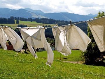 Wäscheleine