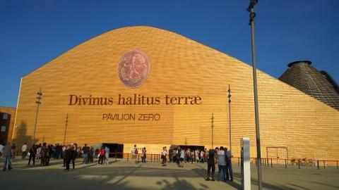 Pavilion Zero der Expo Milano 2015