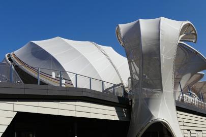 Deutscher Pavillon auf dem Gelände der Expo Milano