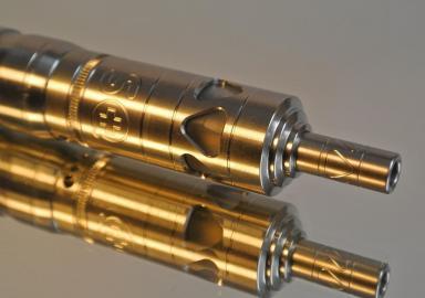 Mundstücke zweier E-Zigaretten