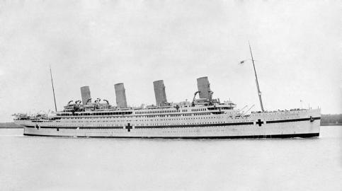 Lazarettschiff HMHS Britannic