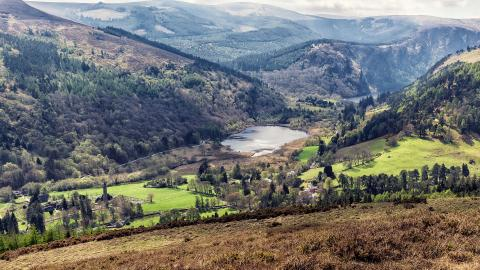 Glendalough Valley im Wicklow National Park