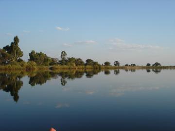 Okavango-Fluss