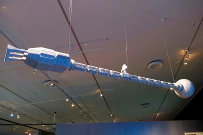 Nachbau des Raumschiffs aus 2001 - Odyssee im Weltraum
