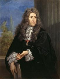Porträt Le Nôtres von Carlo Maratta, 1678