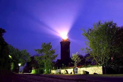 Leuchtturm Dahmeshöved, nachts (2008)