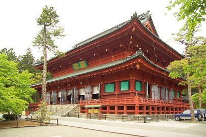 Halle der drei Buddhas des Rinnoji-Tempels in Nikko