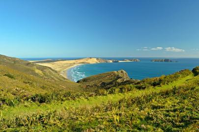 Kap Reinga, der nordwestlichste Punkt der Nordinsel Neuseelands