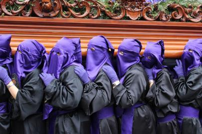 Prozession während der Semana Santa