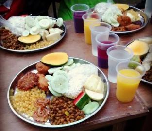 Iftar-Speisen