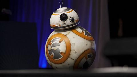Der niedliche Roboter B-88 aus dem Star Wars Trailer