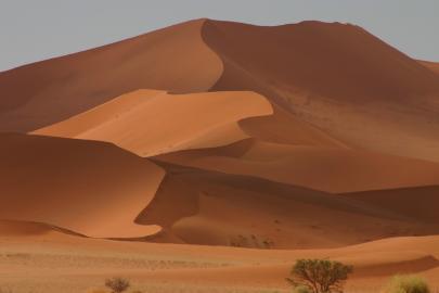 Stimmungsvolle Filmkulisse - die Sandwüste