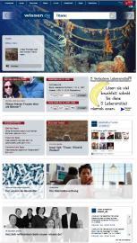 Screenshot: wissen.de 2012 (2)