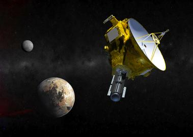 Visualisierung der NASA-Raumsonde New Horizons