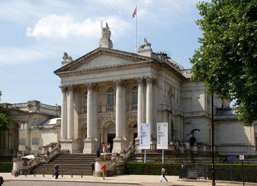 Themseseite der Tate Britain