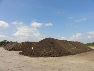Komposthaufen in Frankreich