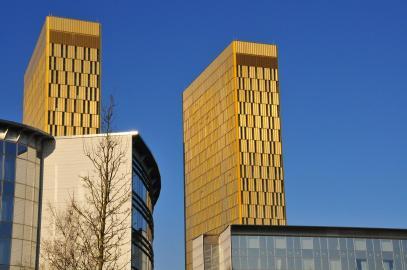 Gebäude des Europäischen Gerichtshofs in Luxemburg