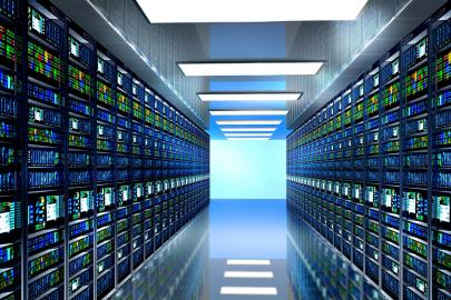 Moderner Serverraum