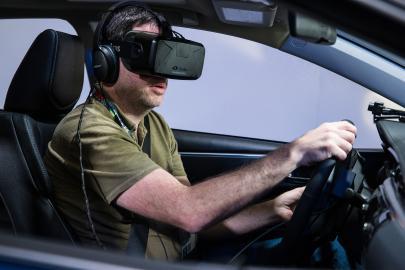 Fahrsimulation mit Oculus Rift