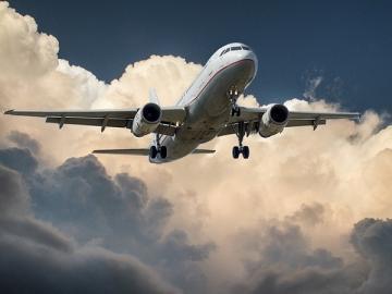 Startender Jet