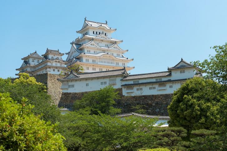 Burg Himeji in der gleichnamigen Stadt