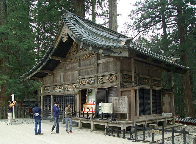 Stall für die heiligen Pferde des Toshogu-Schreins