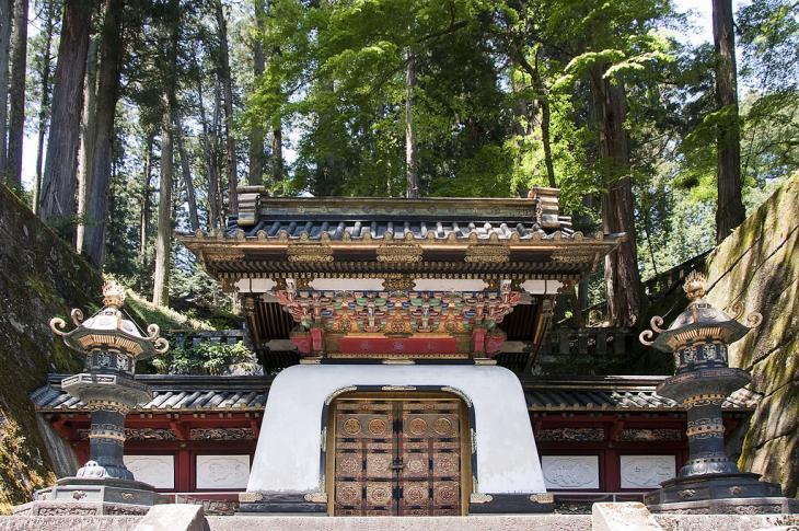 Kōka-mon (Chnesisches Tor) des Taiyū-in.