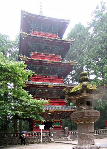 Gojunoto-Pagode des Toshogu-Schreins