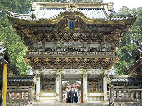 Yomeimon-Tor des Toshogu-Schreins in Nikko