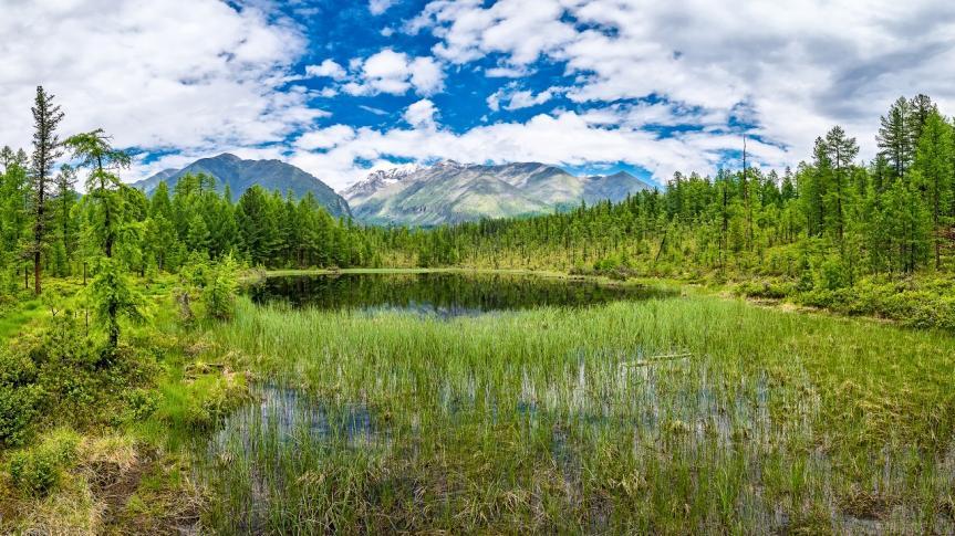 Tunka-Tal in der Baikal-Region
