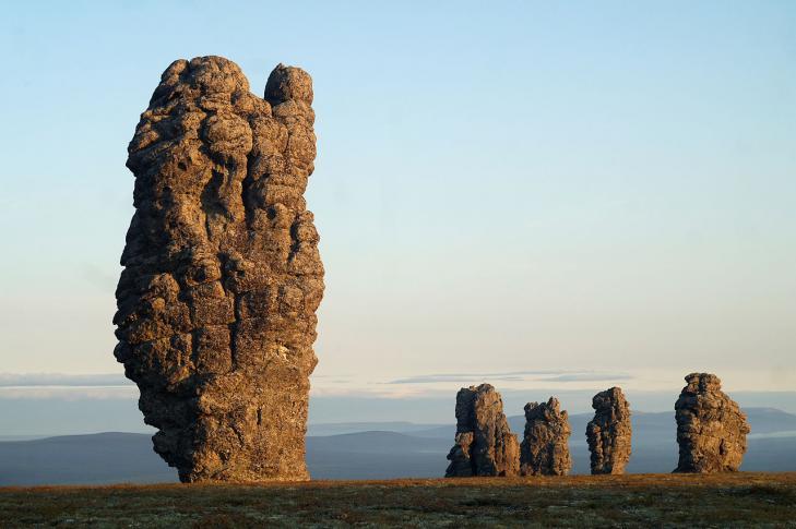 Manpupuner-Felsen im Nordural