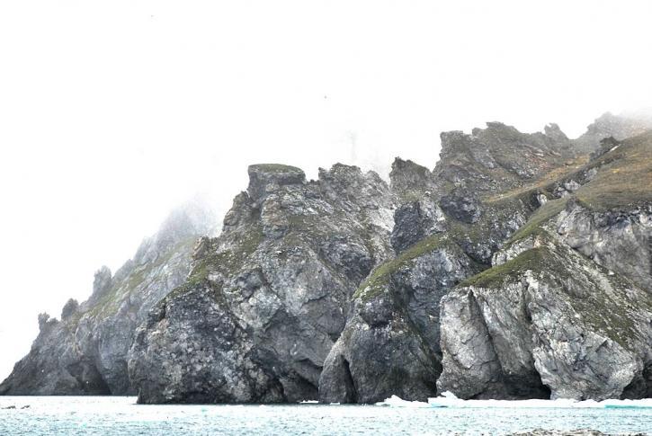 Kap Waring an der Südostspitze der Wrangelinsel
