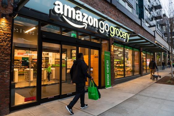 amazon go-Filiale in Seattle