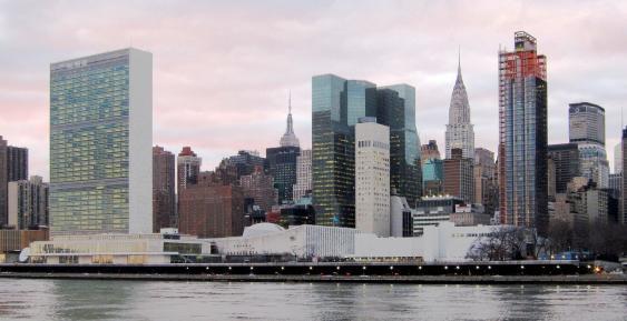 Hauptquartier der Vereinten Nationen in New York City
