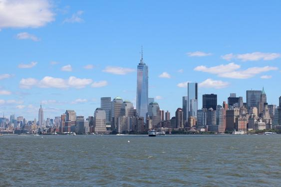 New York Skyline mit One World Trade Center