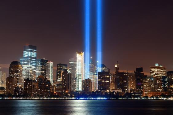 Tribute in Light in New York