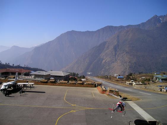 Flughafen Lukla in Nepal