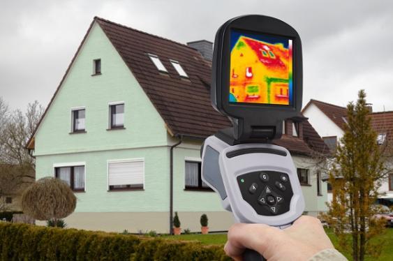 Wärmebildkamera und Altbau