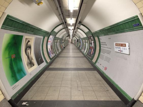 Subway-Tunnel in London