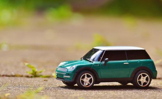 Modellauto Cooper Mini