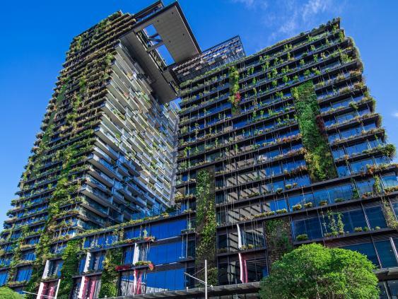Gebäudekomplex One Central Park, Sydney