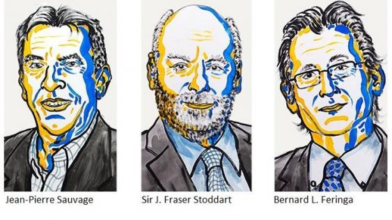 Chemienobelpreislaureaten 2016