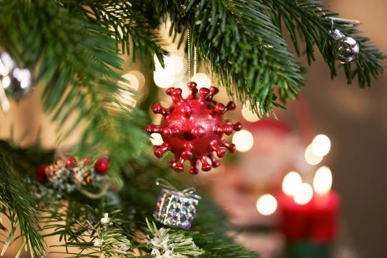 Symbolbild Corona-Weihnachten