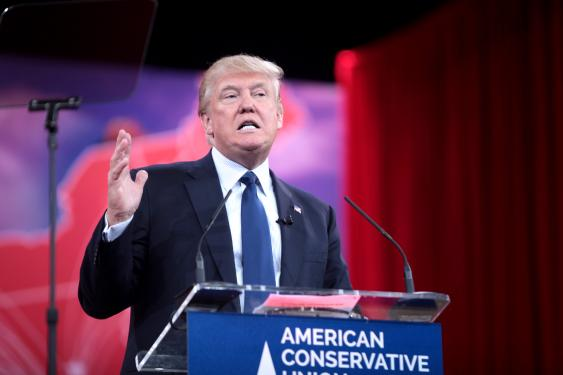 US-Präsidentschaftskandidat Donald Trump, 2016
