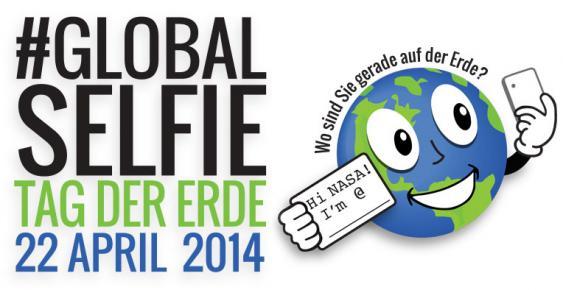 Logo der Aktion GlobalSelfie