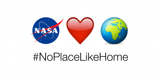 Emoji zur NASA-Fotoaktion #NoPlaceLikeHome