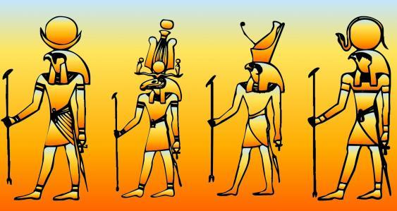 Altägyptische Gottheiten