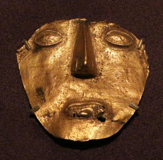 Goldmaske der Musica